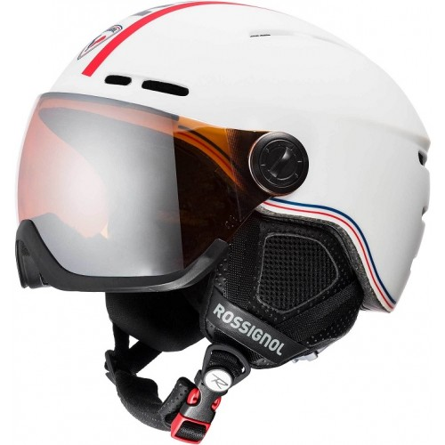 Rossignol - Visor - SINGLE LENSE WHITE