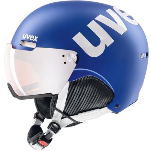 uvex - hlmt 500 visor - cobalt-white mat