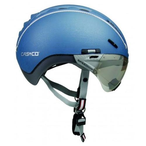 Casco - Roadster mit Visier - Jeansblau