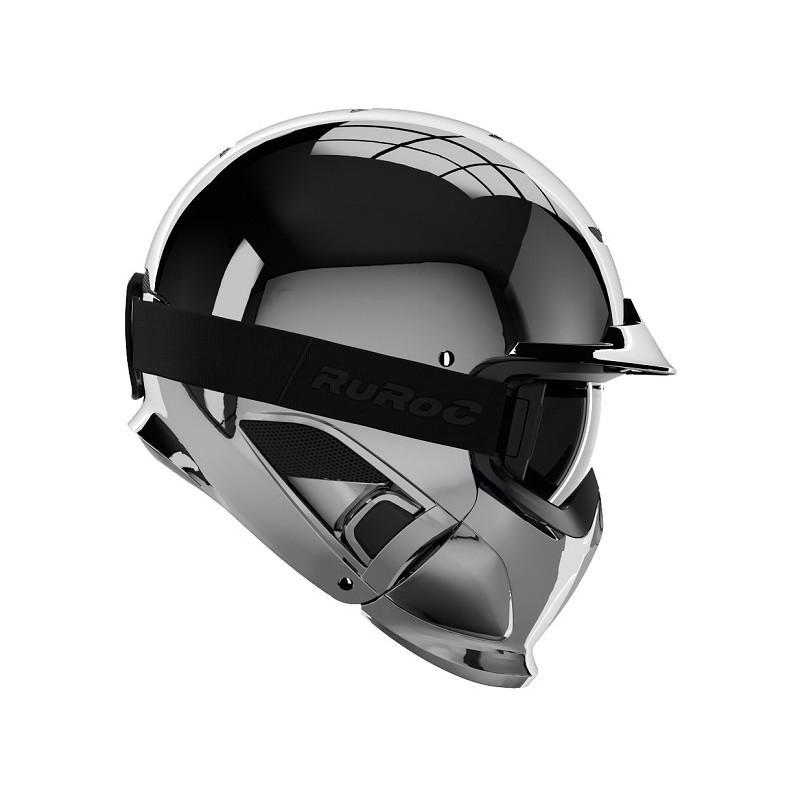 Ruroc - RG1 - DX Silver Chrome