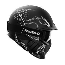 Ruroc - RG1 - DX Chain Breaker mit polarisierender Skibrille