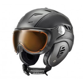 SKI HELMET WITH VISOR